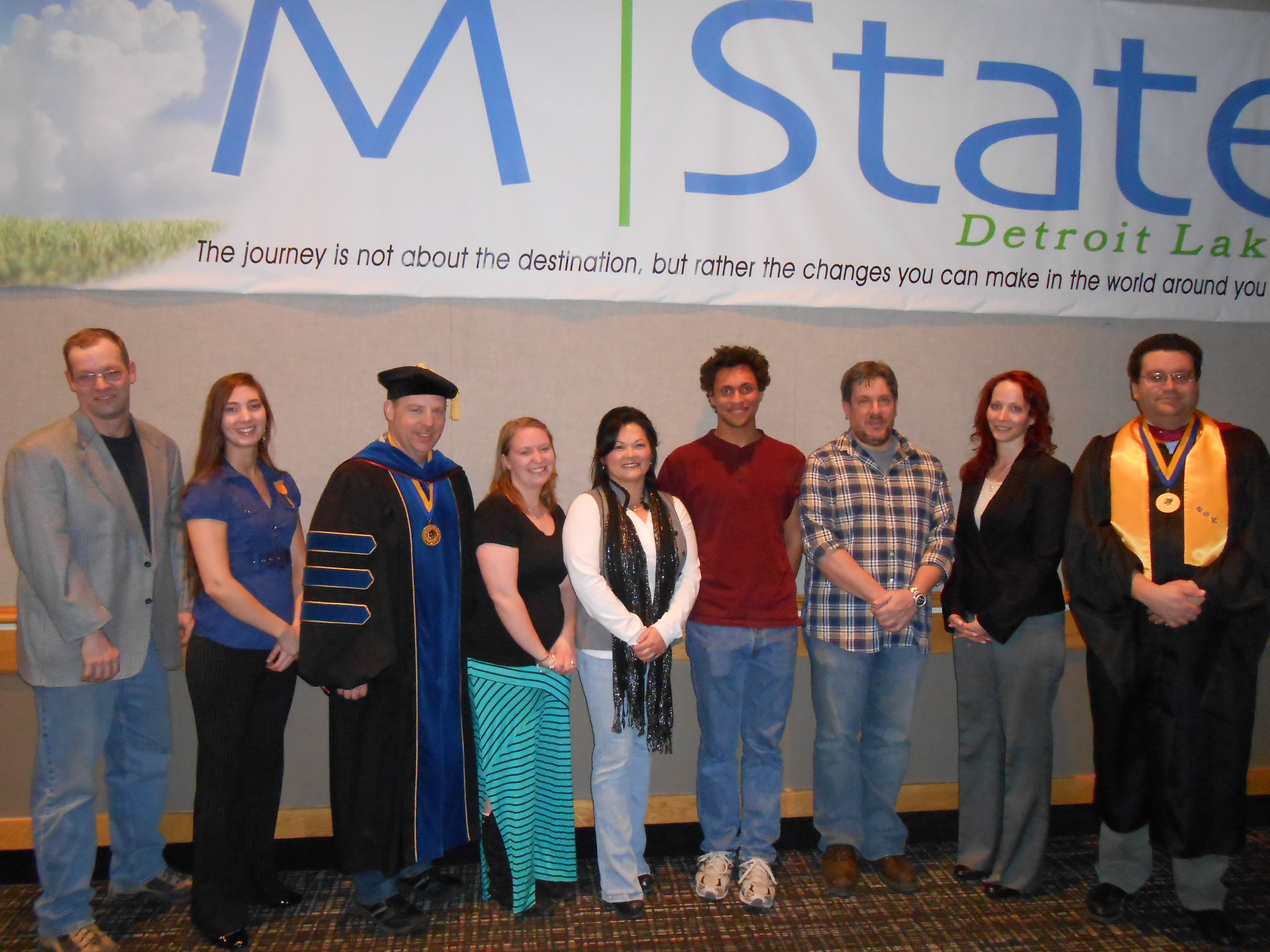 Nine inducted into PTK's Detroit Lakes chapter | M State