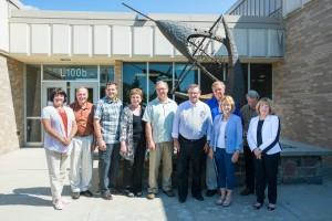 Bonding Committee Visit-
