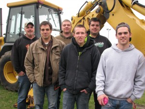 Left to right: Randy Baker, Josh Horstmann, Ben Horstmann, William Richards, Dustin Jones and Damien Henry.