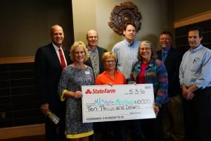 State Farm grant 5-16