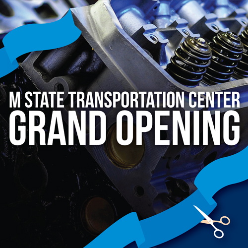 M State celebrates Transportation Center completion with Aug. 17 open house