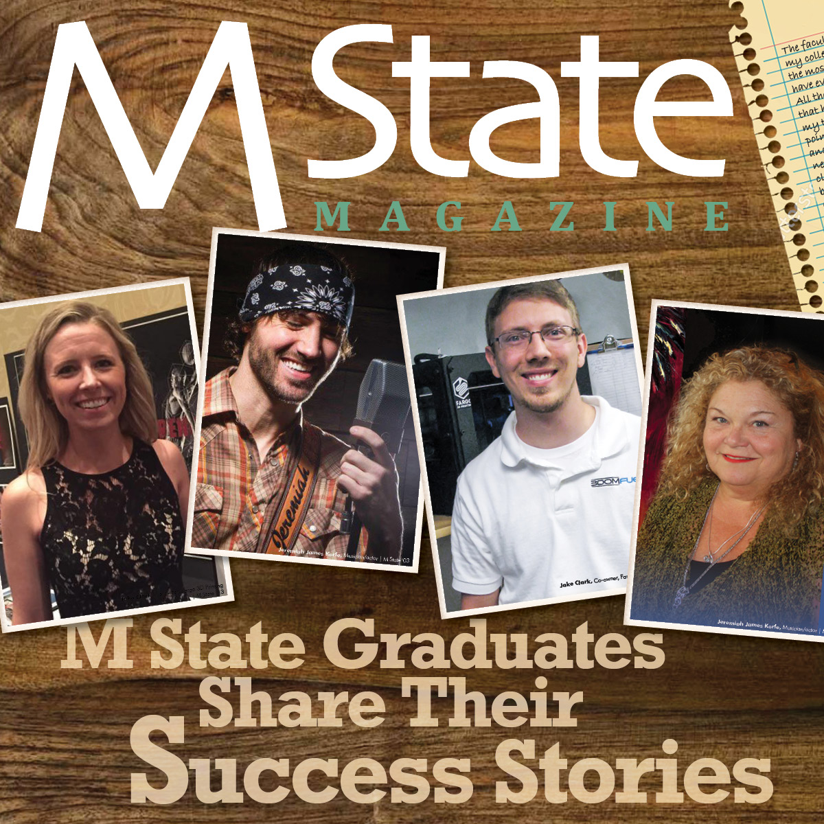 Check out the online version of the M State Magazine!