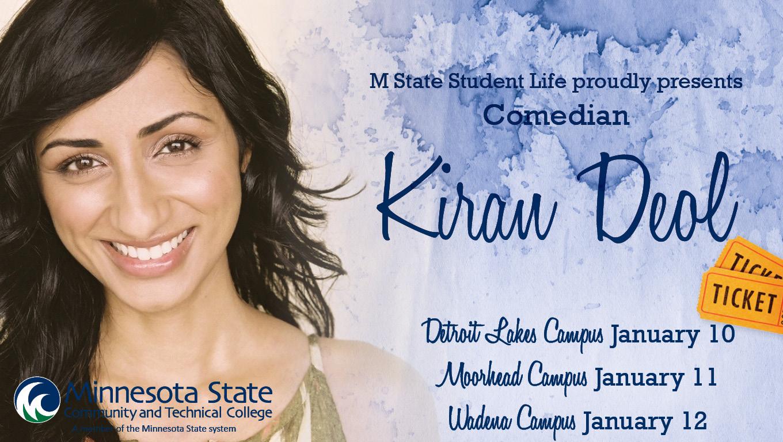 Comedian Kiran Deol