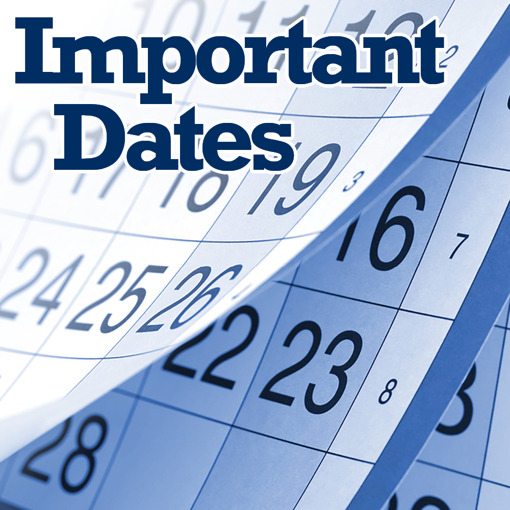 Tuition & Financial Aid Important Dates