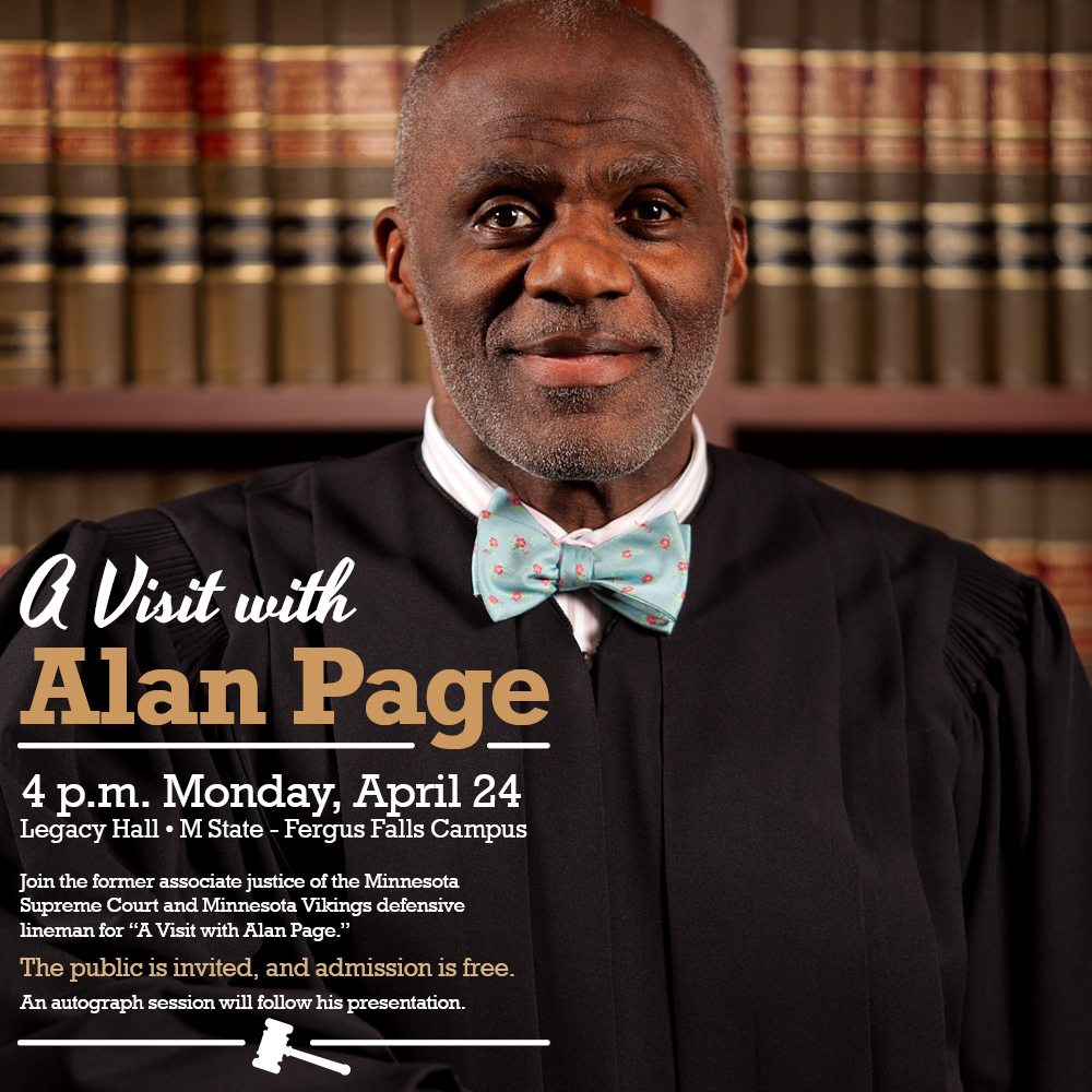 M State hosting former Vikings great in 'A Visit with Alan Page'