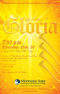 "John Rutter's ""Gloria"" Choral Concert @ Legacy Hall 
