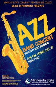 Jazz Band Concert @ Legacy Hall | Fergus Falls | Minnesota | United States