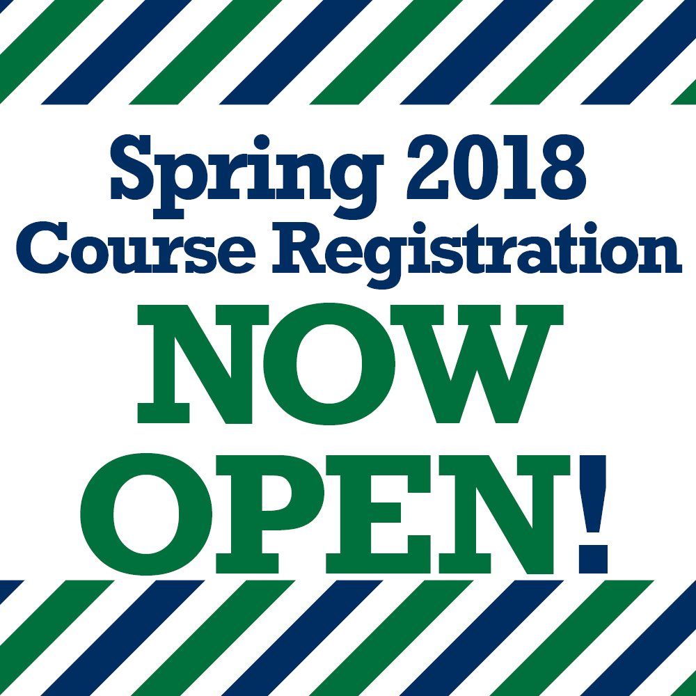 Spring 2018 registration is now open!