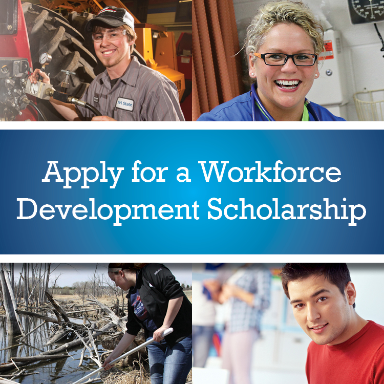 Apply for a Workforce Development Scholarship