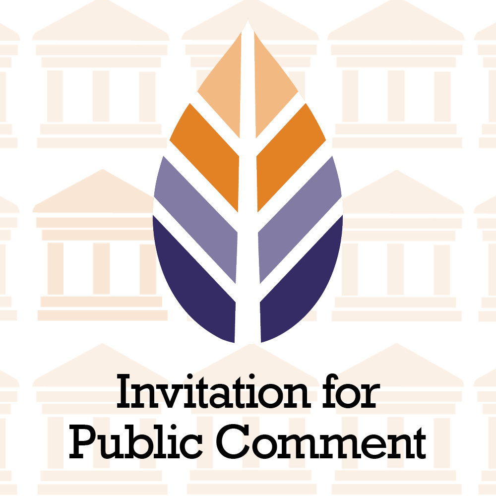 Invitation for Public Comment