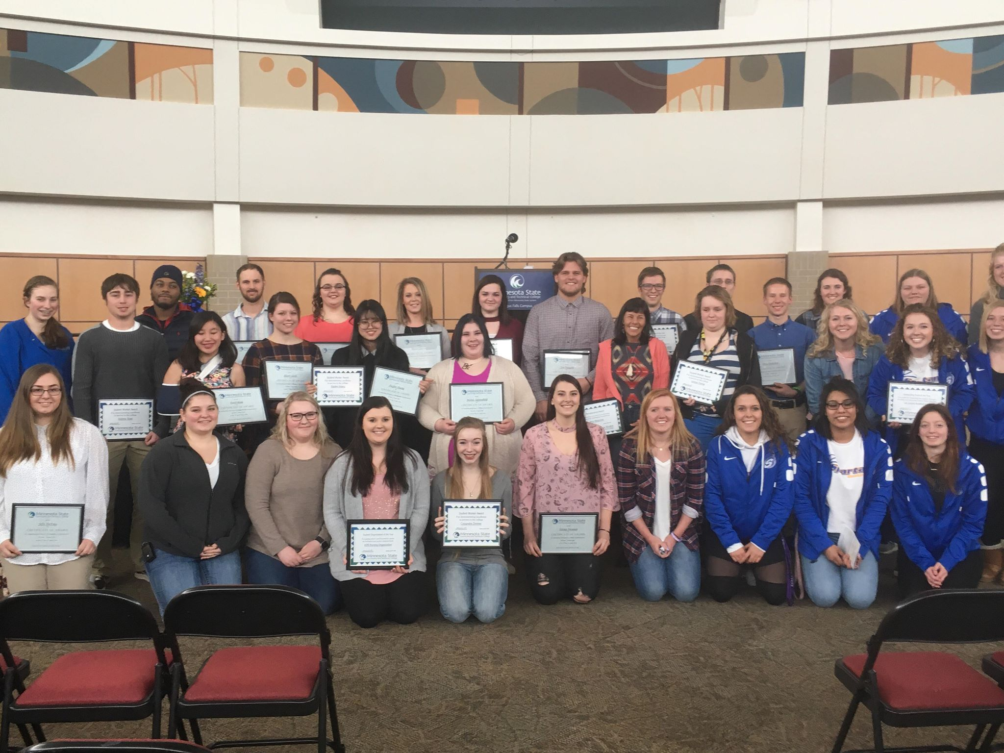 Fergus Fall Student Awards