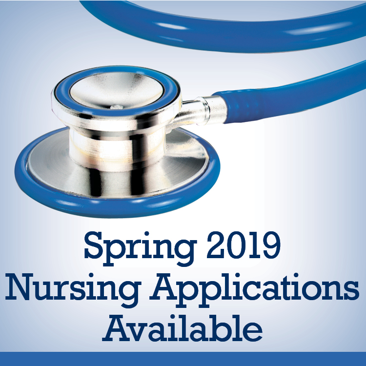 Spring 2019 Nursing Applications Available
