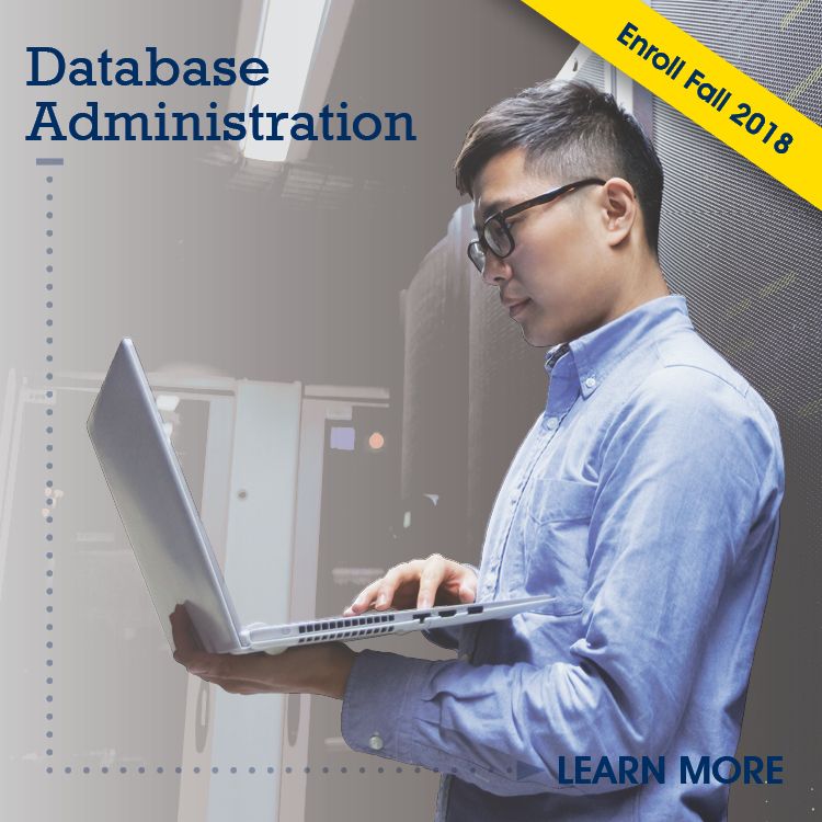 Prepare for a career in the maintenance and administration of database management systems.