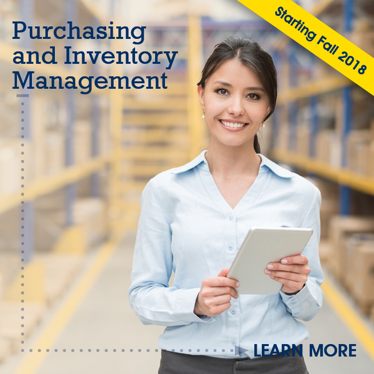 Advance your career with the purchasing and inventory management skills that are in demand in a broad range of industries.