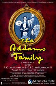 The Addams Family @ Waage Theatre | Fergus Falls | Minnesota | United States