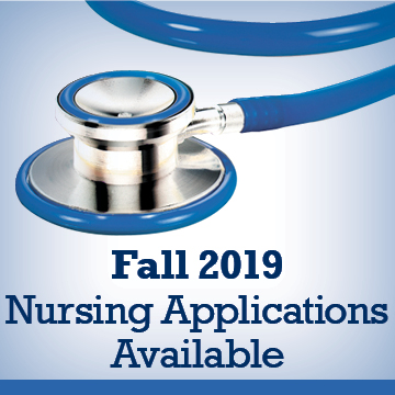 Nursing applications for fall 2019 are available.
