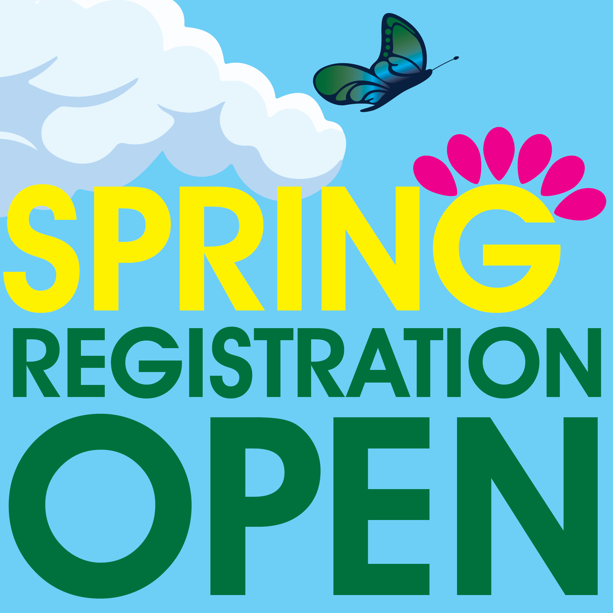Spring 2019 Course Registration is Open!