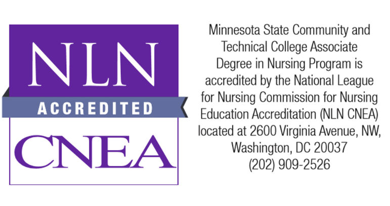 NLN accreditation graphic