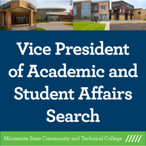 Vice President of Academic and Student Affairs Search tile